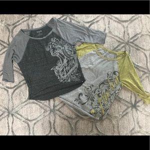2 Hurley Shirts